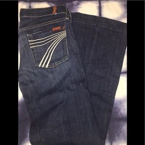 Seven Jeans Sz 27 with 31!inseam